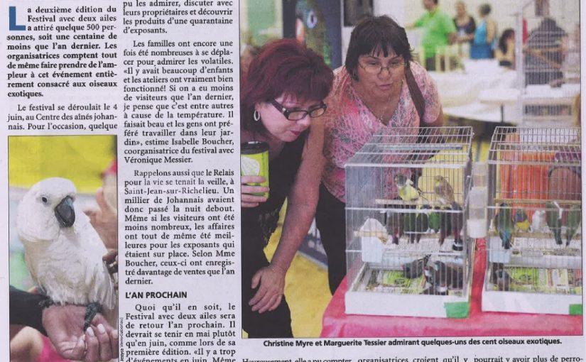 Journal le Canada Français, 9 juin 2016